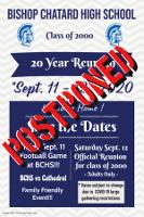 Postponed flyer