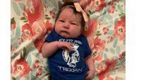 Lauren (Paras) Hagan, '10,  welcomes baby girl