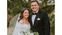 Colleen (Treesh) LaRose, '13, weds Kenny LaRose, '11