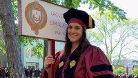 Eleanor (Ellie) Smith, '08, receives doctorate