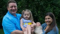 Leighanna (Hotka) Myers, '99, welcomes second child