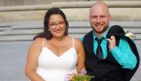 Adriana and husband